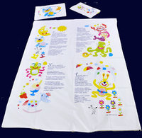 Story duvet cover set ( Duvet cover, pillowcase, cloth bag)